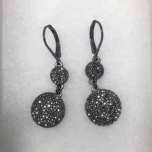 EXPRESS Metallic with Cubic Zirconia Earrings